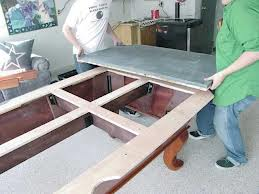 Pool table moves in Asheville North Carolina