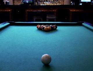 Pool table repair professional service in Asheville