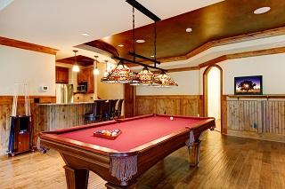 Pool table sizes for your game room