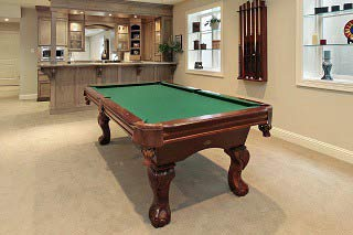 Skilled pool table installers in Asheville