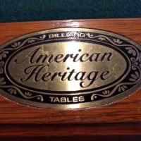 American Heritage Pool Table For Sale