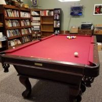 Beautifull Full Size Pool Table-SOLD