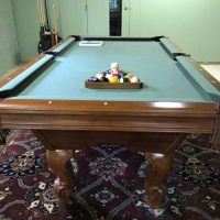 Brunswick Pool Table With Accessories Included