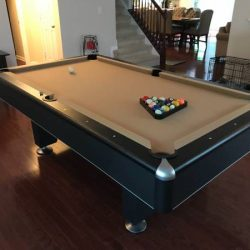 Camel Felt Pool Table